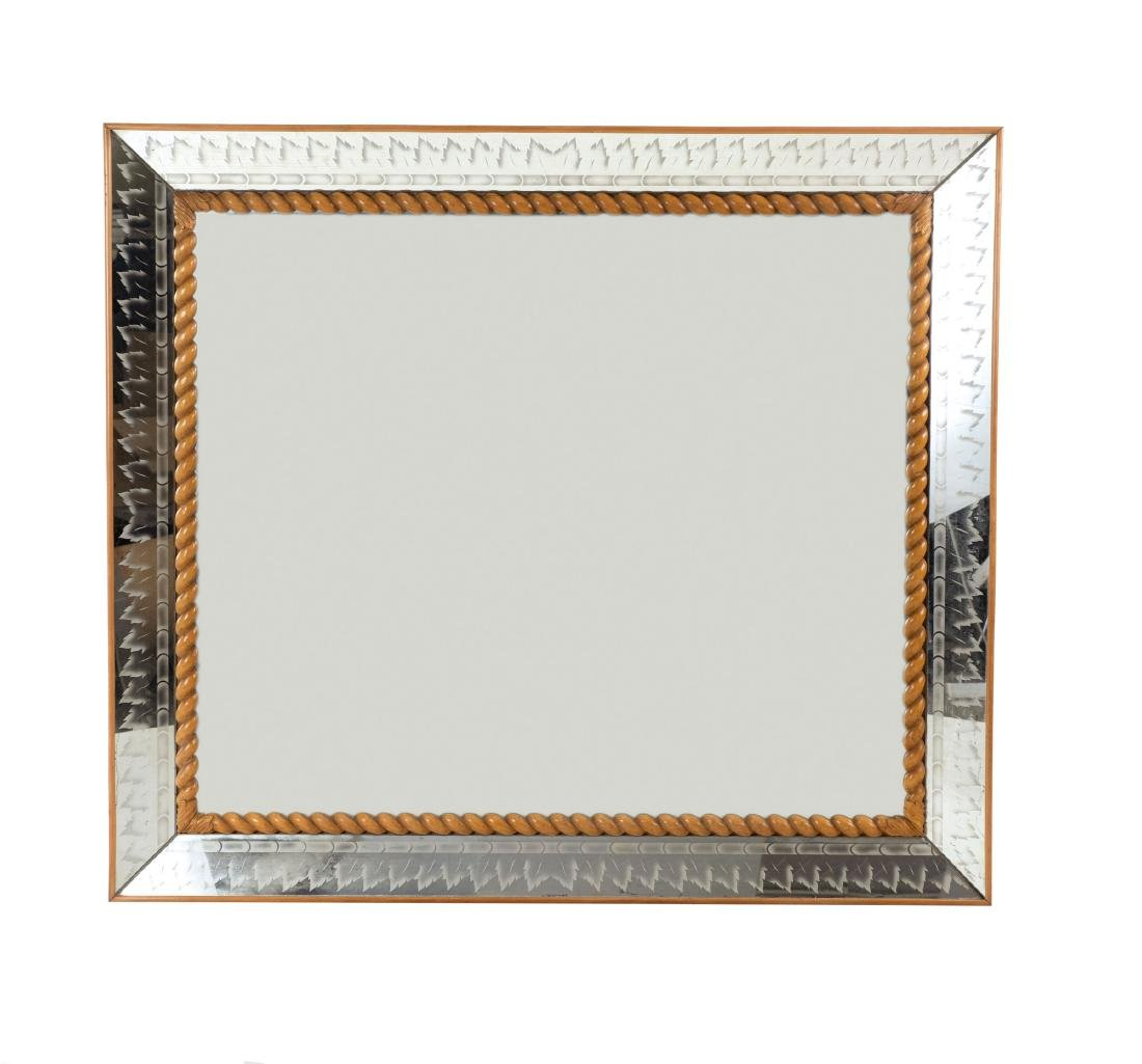Large mirror, 1930/40s