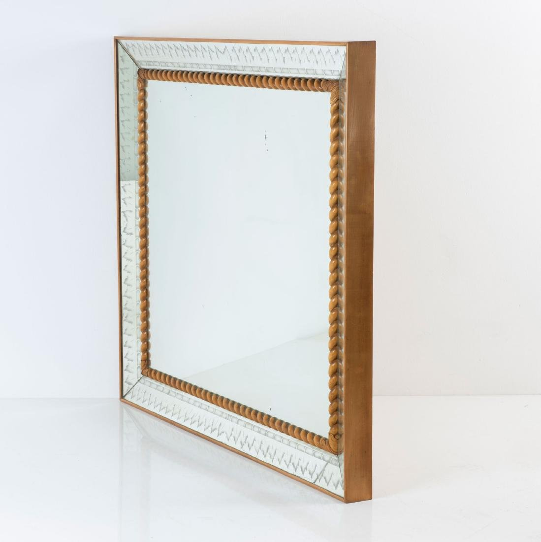 Large mirror, 1930/40s - 2