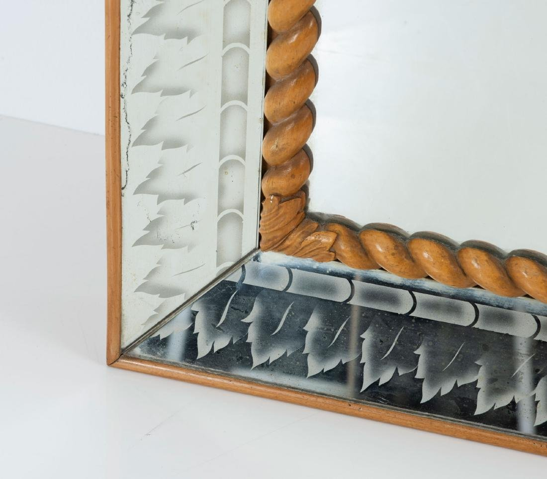 Large mirror, 1930/40s - 3