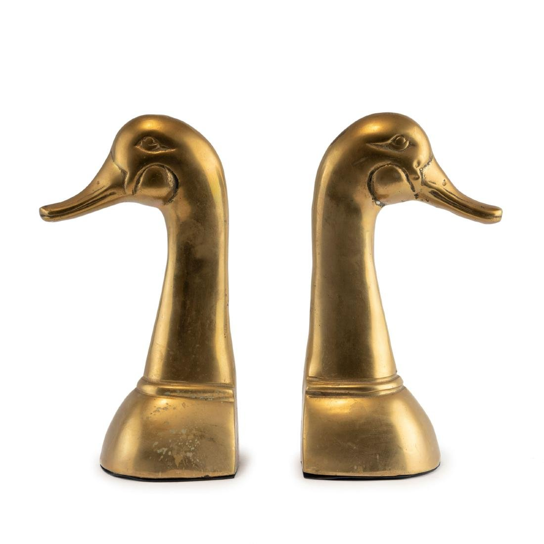 Two 'Geese' bookends, 1930/40s