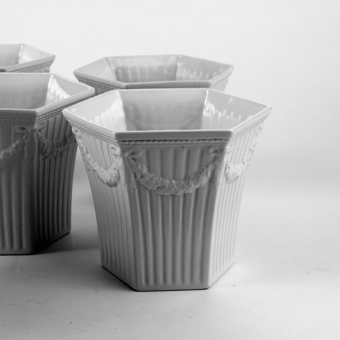 Eight 'Empire' flower pots, 1930s - 2