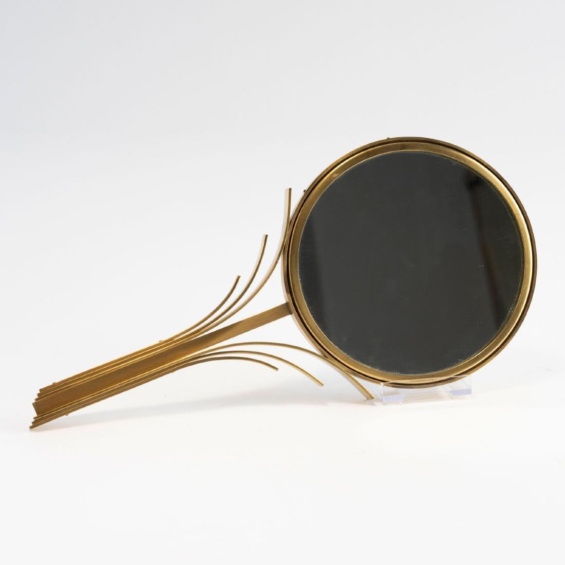 Hand-held mirror, 1930s - 2