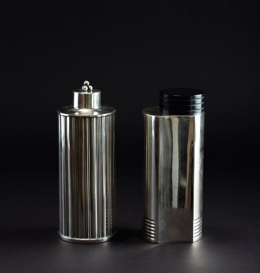 Two cocktail shakers, c. 1935
