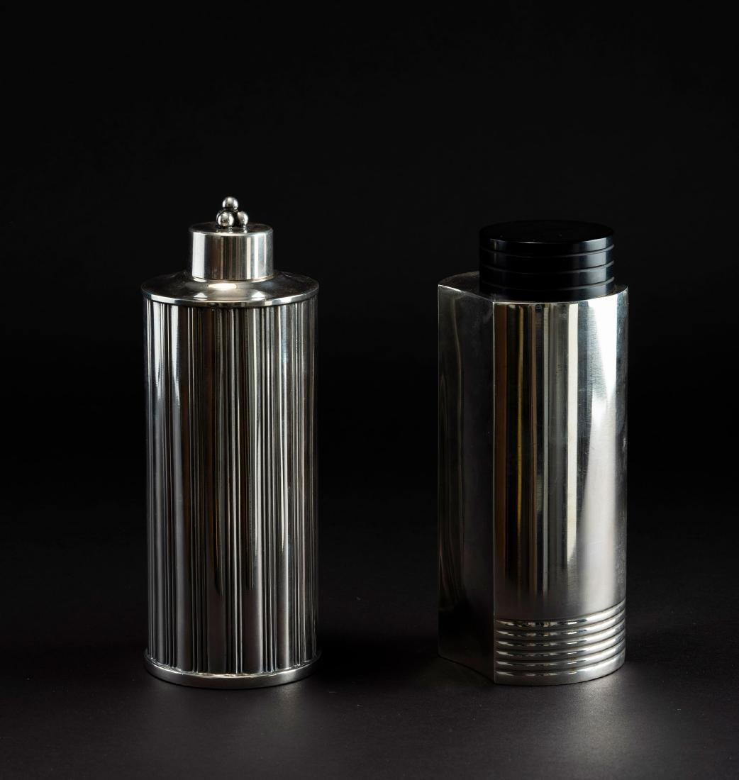 Two cocktail shakers, c. 1935 - 2
