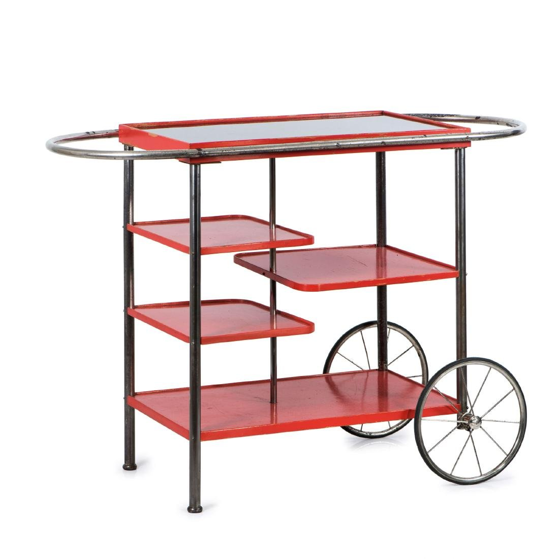 Tea trolley, 1930s - 4