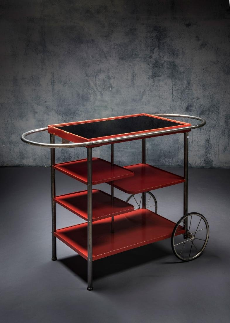 Tea trolley, 1930s - 7