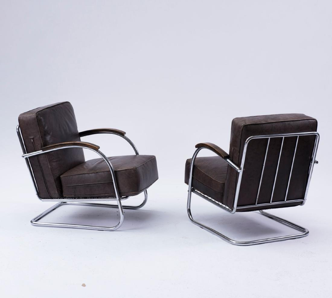 Two easy chairs, 1930s - 3