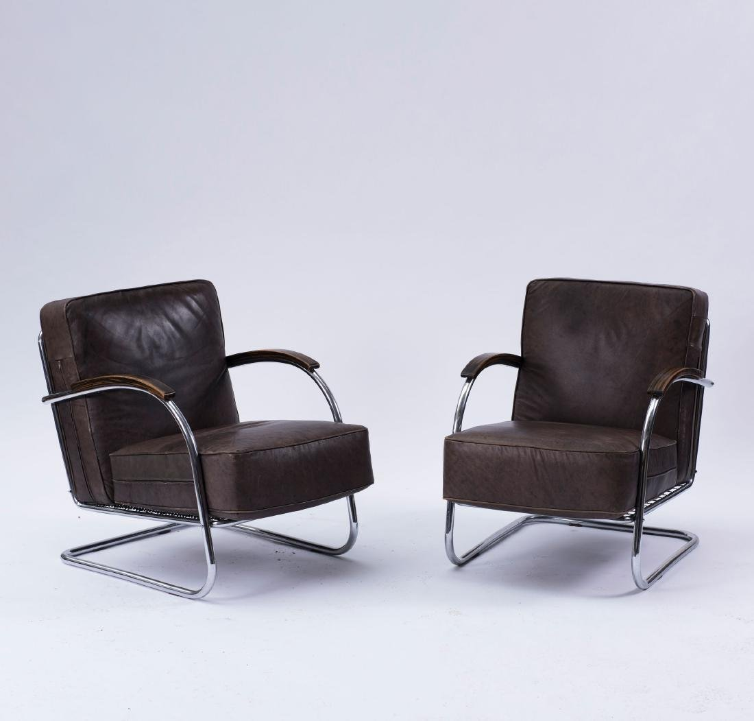 Two easy chairs, 1930s - 4