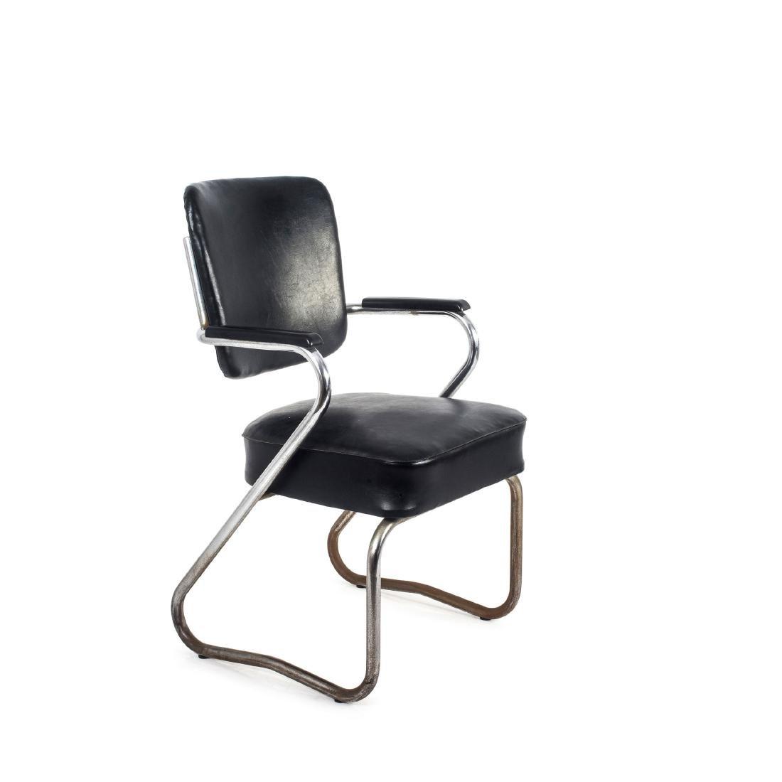 Tubular steel chair, c. 1935