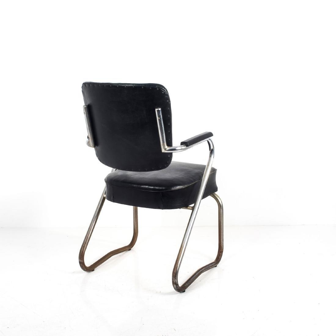 Tubular steel chair, c. 1935 - 6
