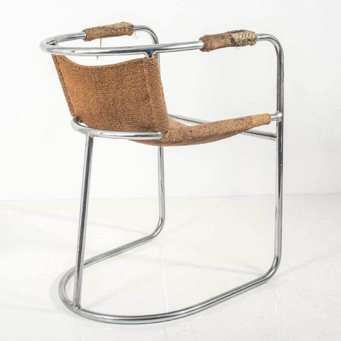 Tubular steel chair c. 1938 - 4