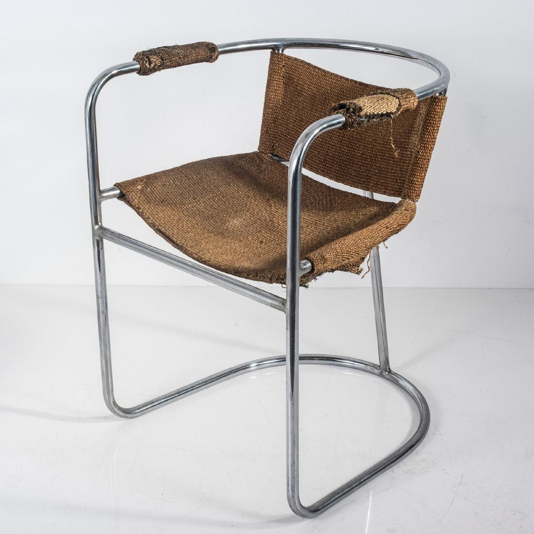 Tubular steel chair c. 1938 - 5