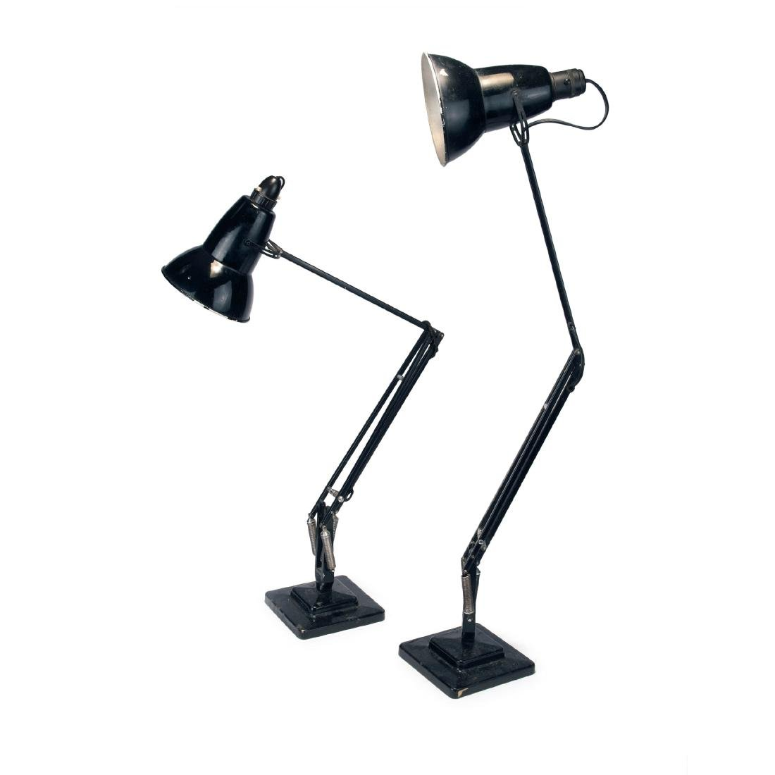 Two 'Anglepoise' table lights, 1934