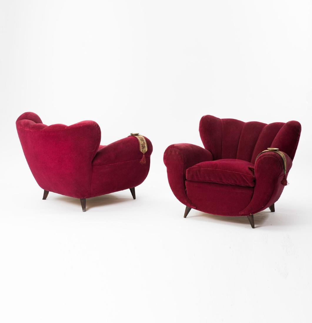 Two easy chairs, 1940s - 4