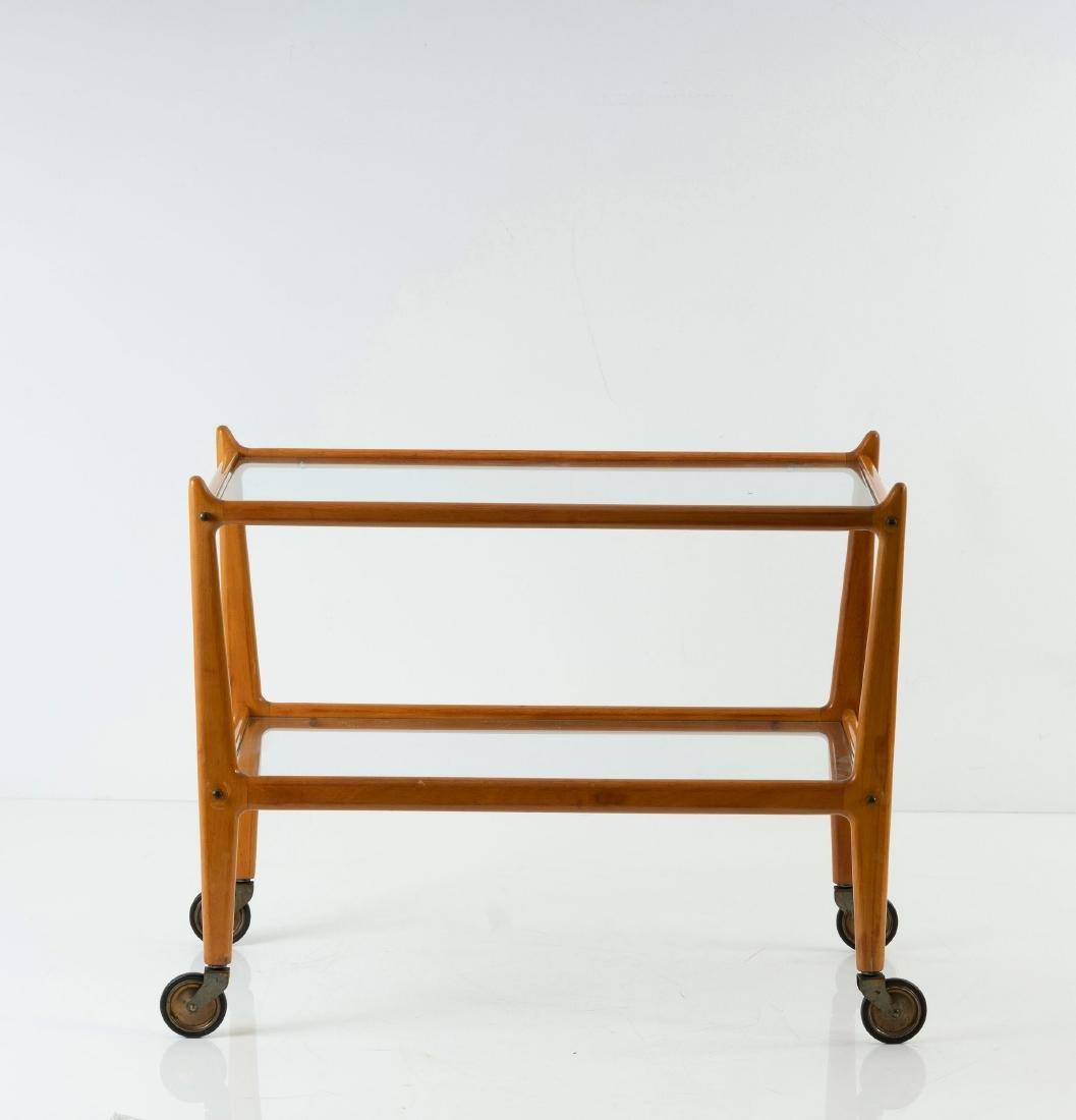 Serving cart, c. 1950 - 3