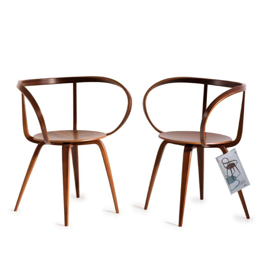 Two 'Pretzel chairs', 1952