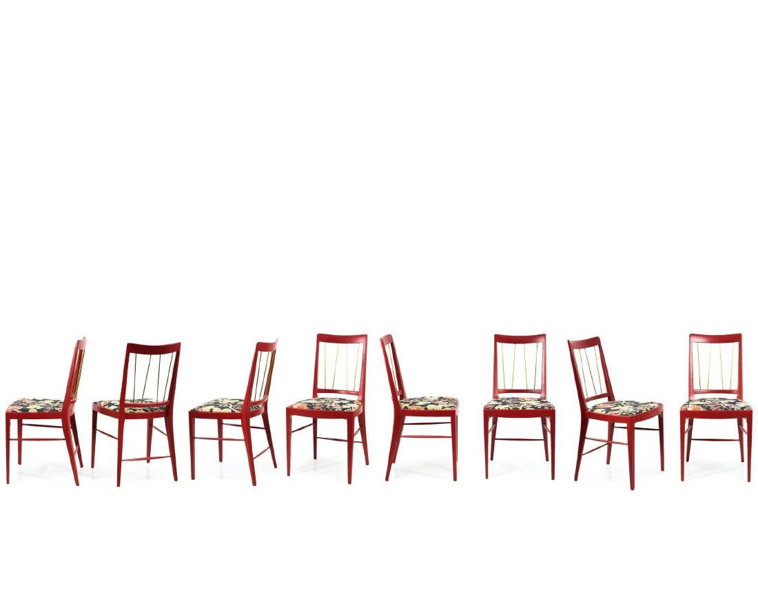 Eight chairs, c. 1953