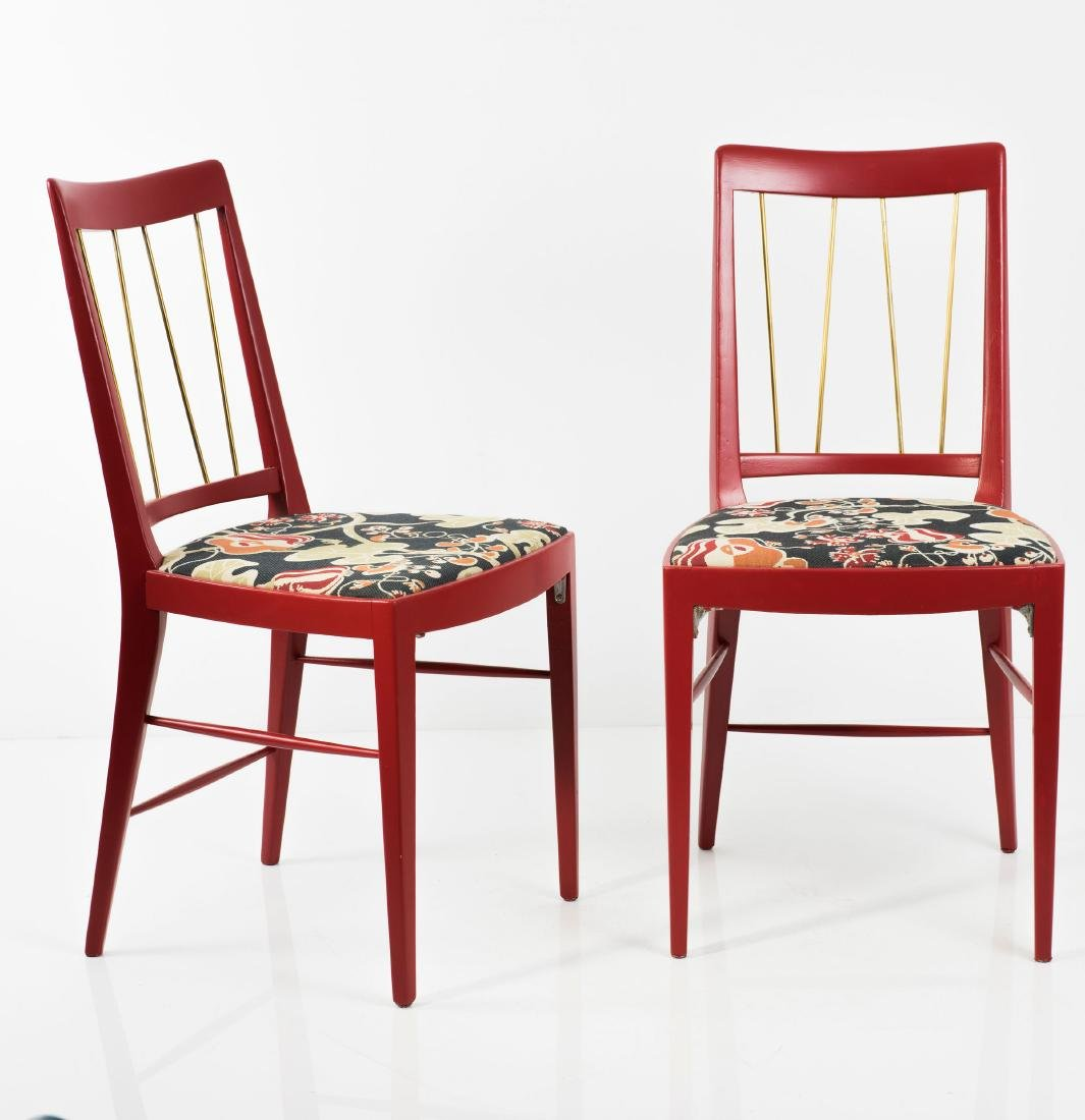 Eight chairs, c. 1953 - 4