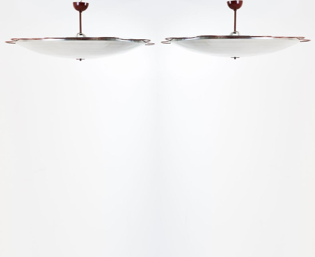 Two 'Filmcasino Vienna' ceiling lights, 1954 - 3