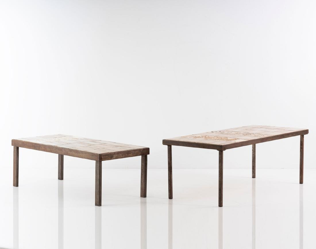 Two side tables, 1950s - 4