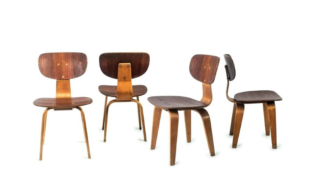 Four 'SB16' chairs, 1955 - 10