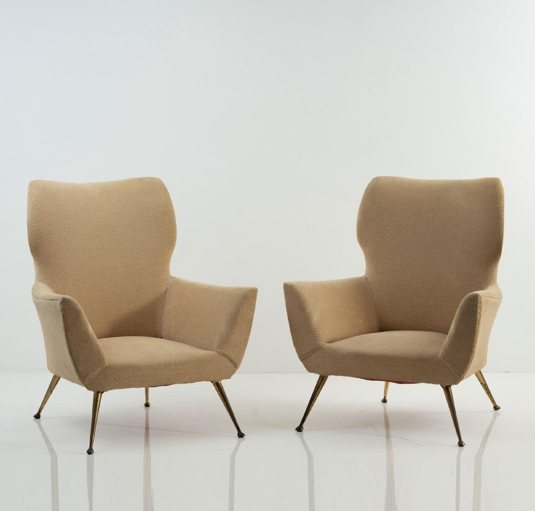 Two easy chairs, 1950s