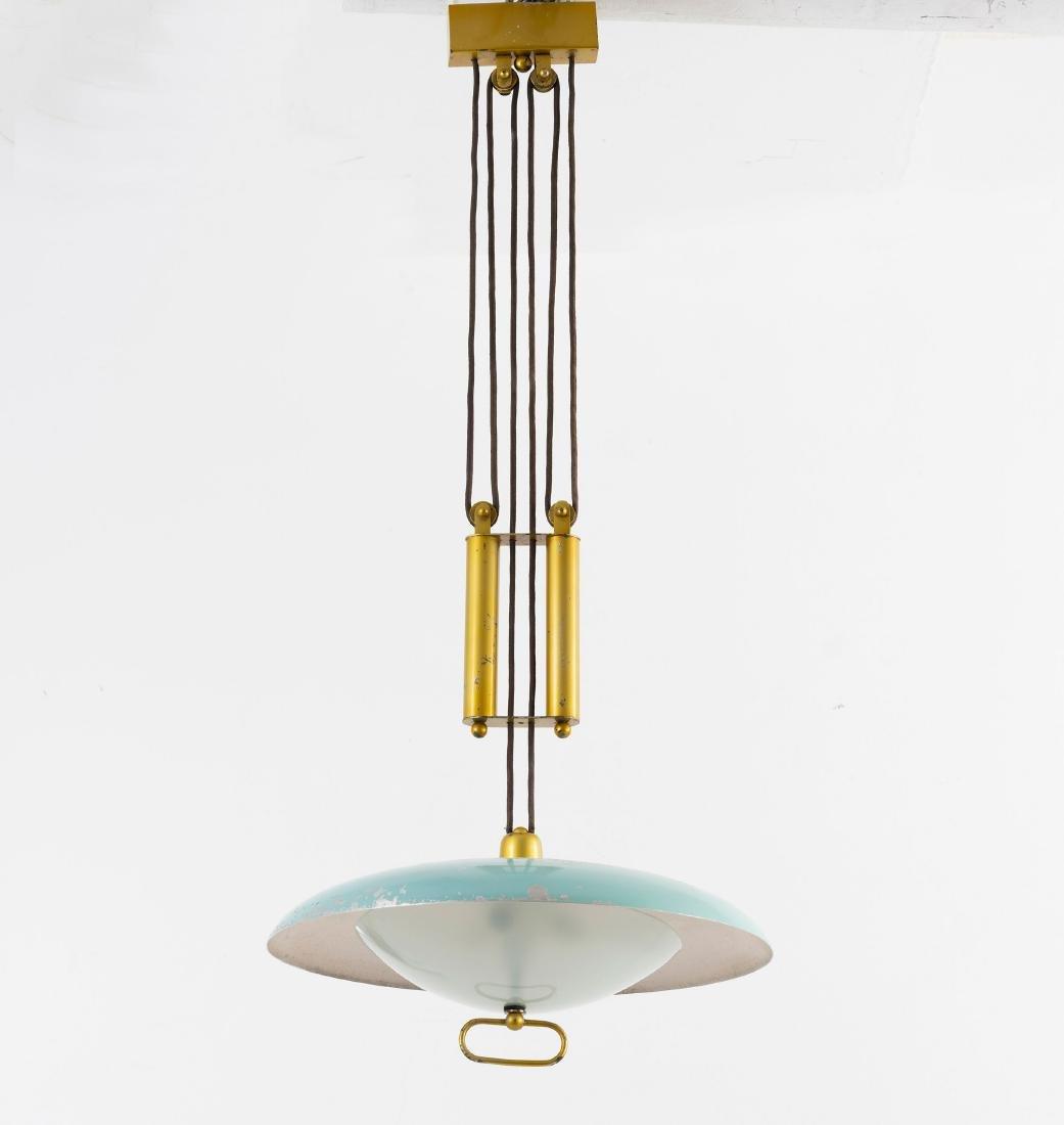 Adjustable ceiling light, c. 1955 - 4
