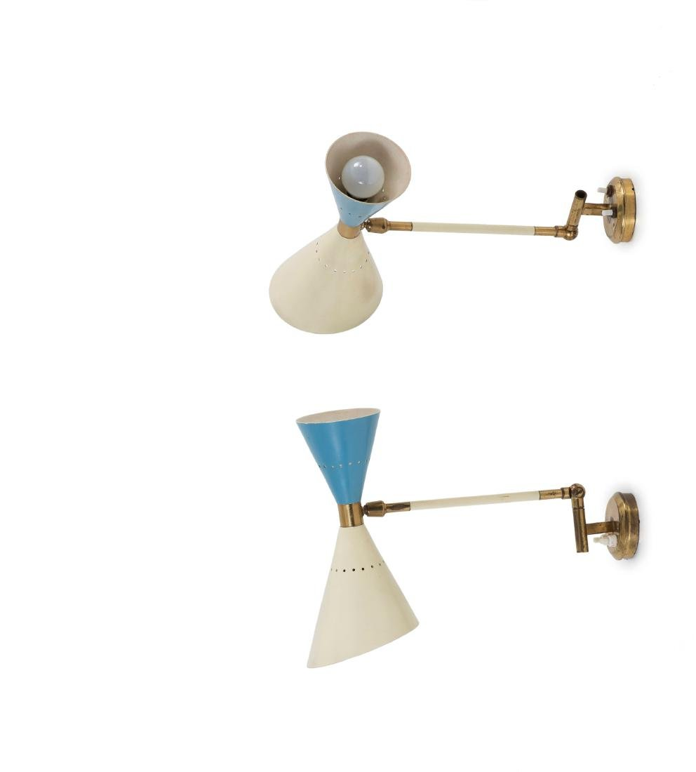 Two sconces, c. 1955
