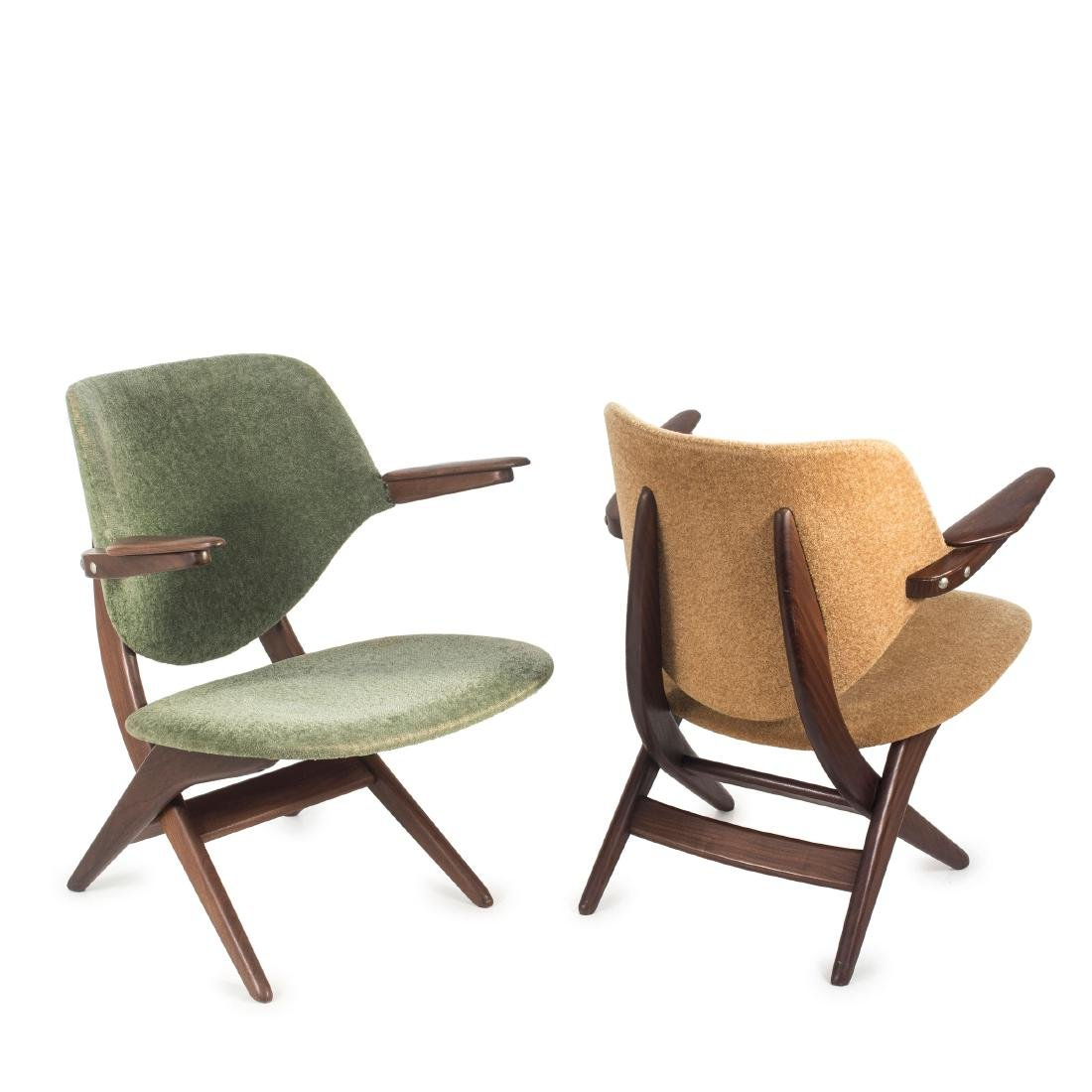Two 'Pelican' easy chairs, c. 1955