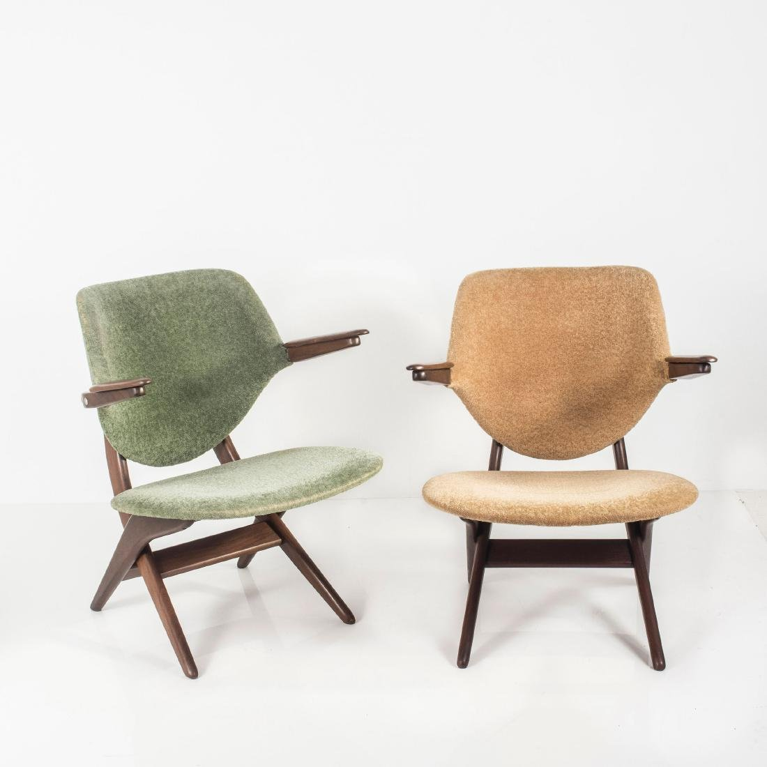 Two 'Pelican' easy chairs, c. 1955 - 2