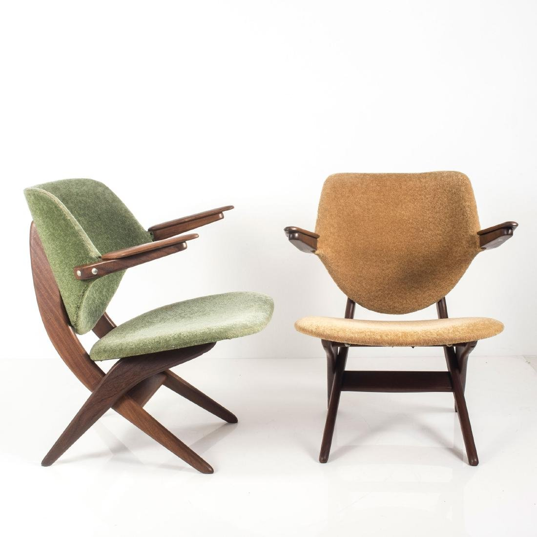 Two 'Pelican' easy chairs, c. 1955 - 6