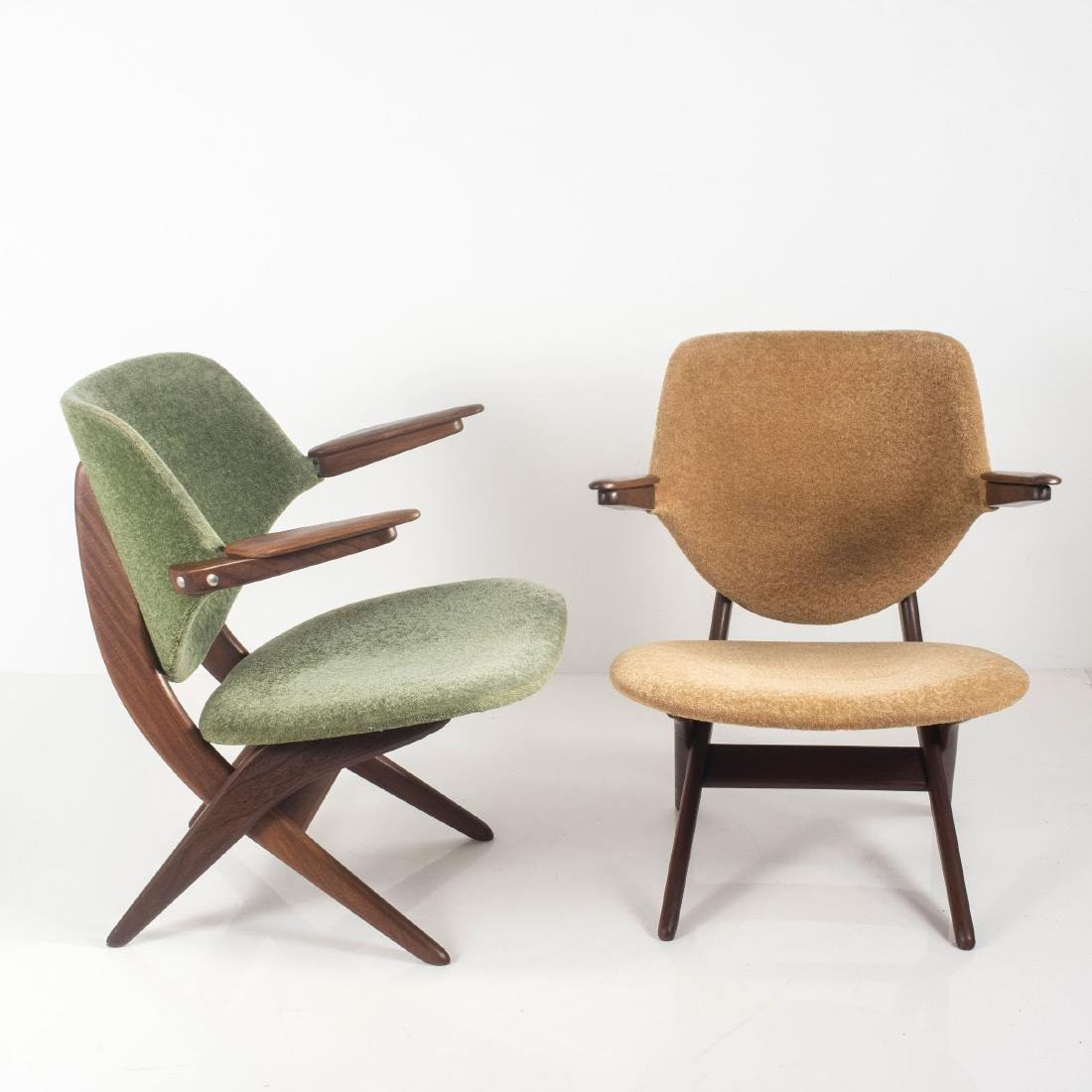 Two 'Pelican' easy chairs, c. 1955 - 7