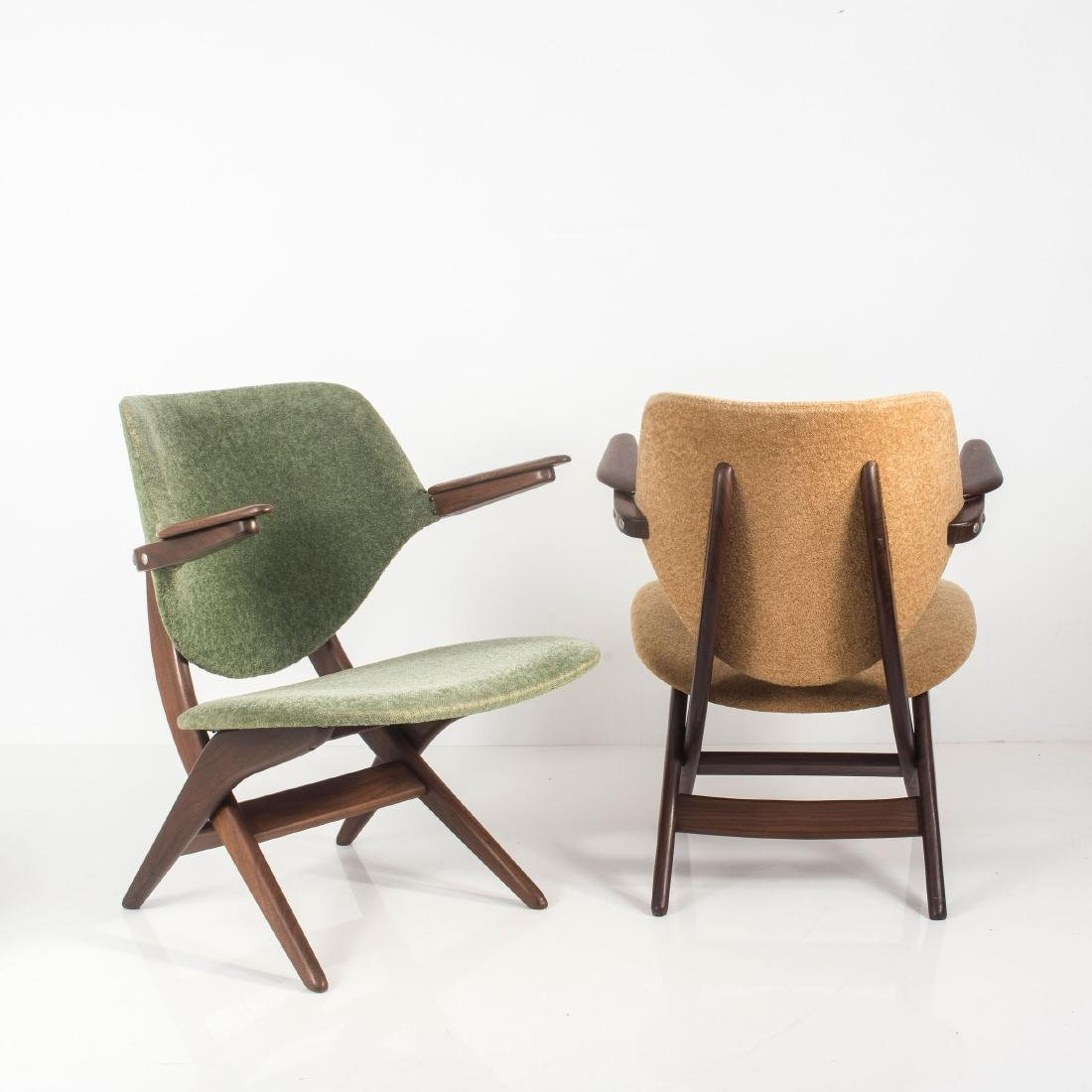 Two 'Pelican' easy chairs, c. 1955 - 8