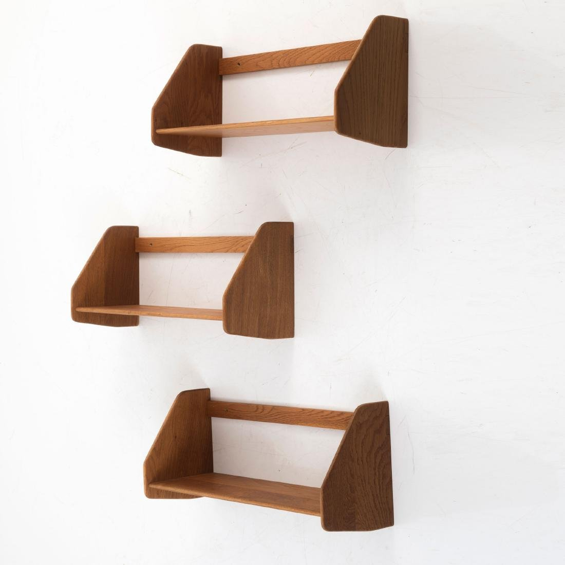 Five wall shelves, c. 1955 - 5