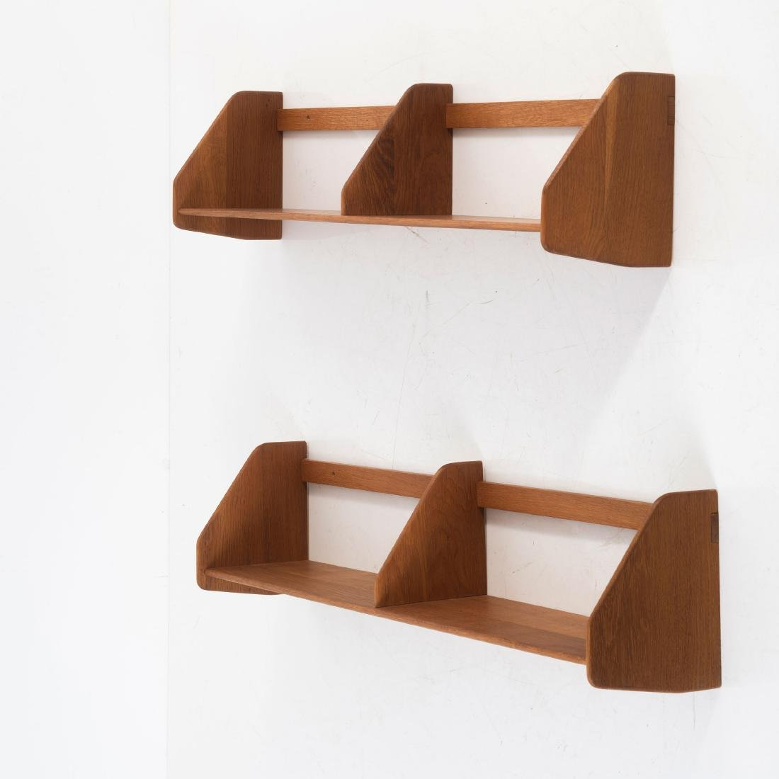 Five wall shelves, c. 1955 - 6
