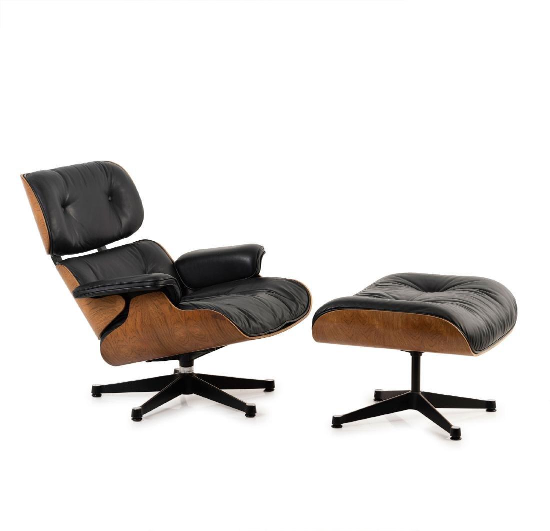 '670' lounge chair and '671' ottoman, 1956