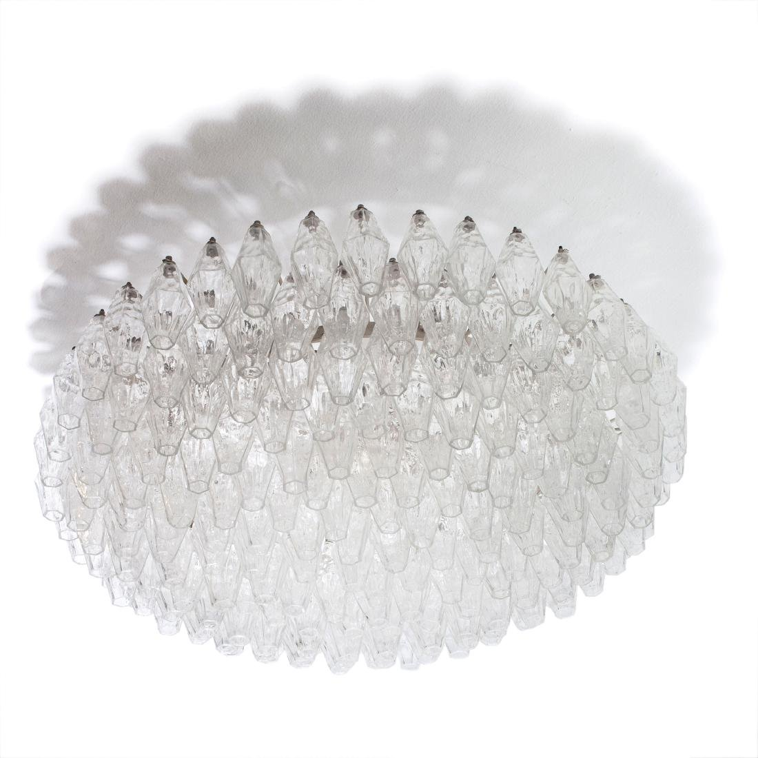 'Poliedrica' ceiling light, c. 1958