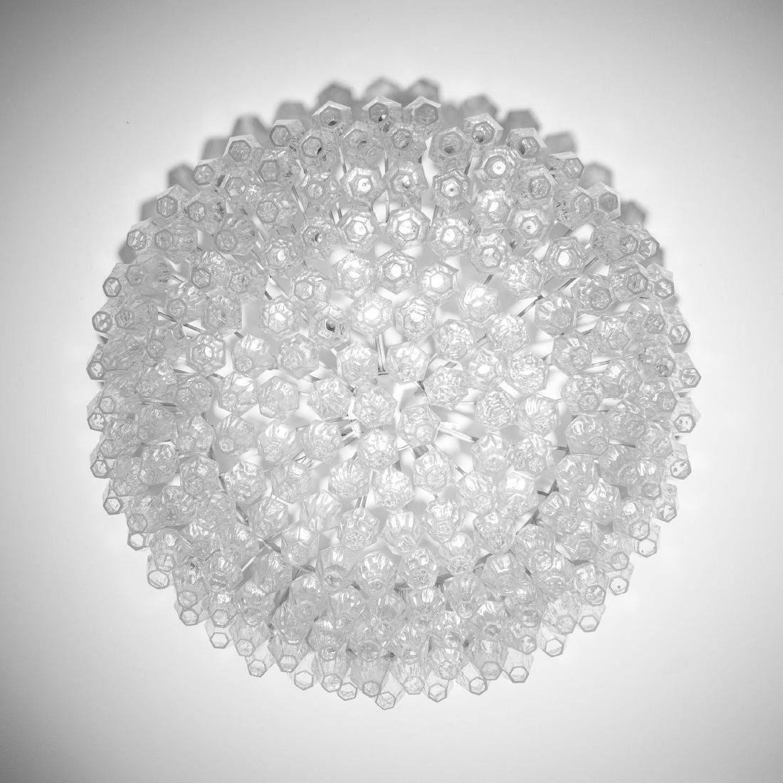 'Poliedrica' ceiling light, c. 1958 - 2