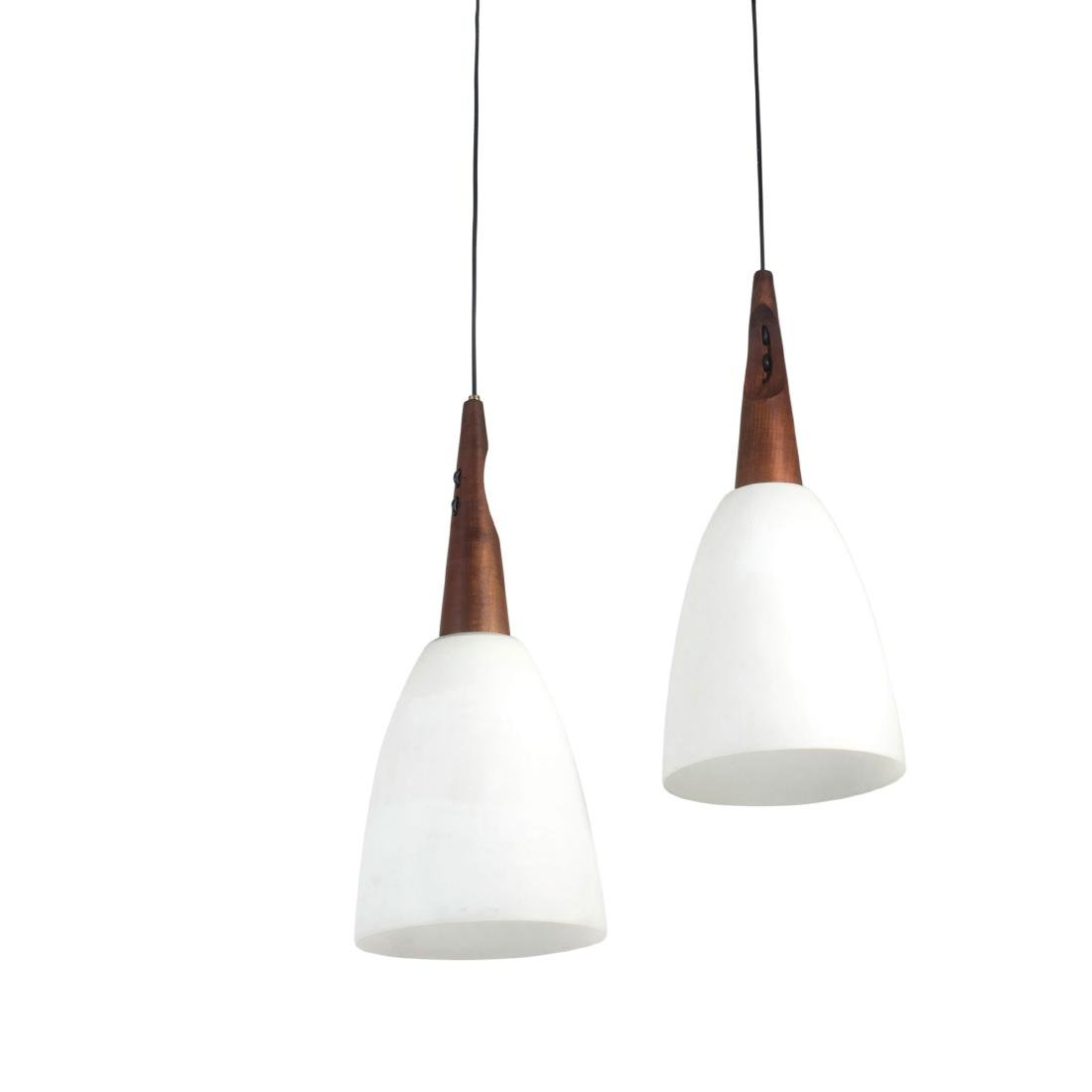 Two ceiling lights, c. 1958