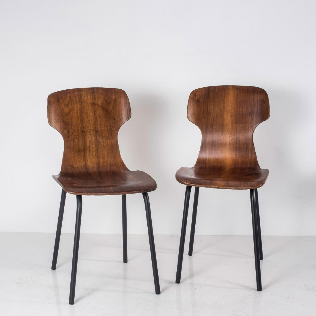 Eight side chairs, c. 1958 - 3