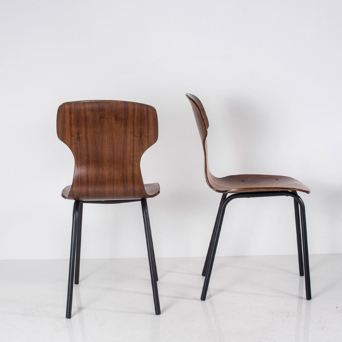 Eight side chairs, c. 1958 - 4