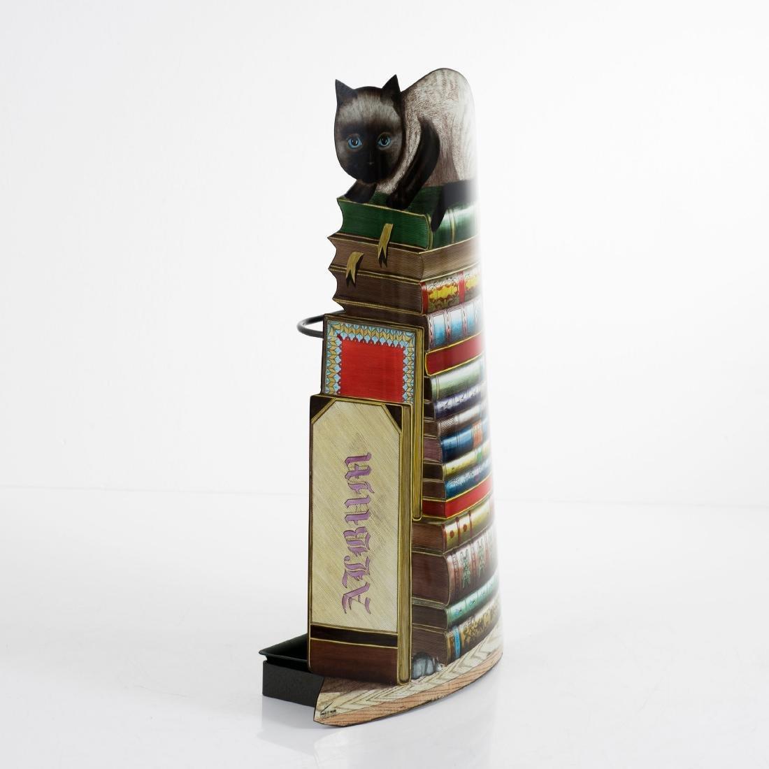 'Gatto sui libri' umbrella stand, 1950s - 3
