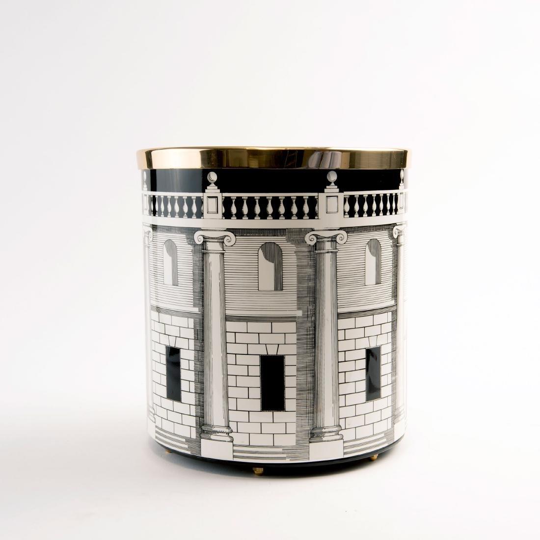 'Casa con colonne' wastepaper bin, 1950s - 2