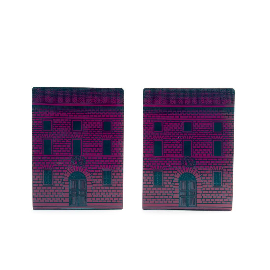 Two 'Architettura' bookends, 1950/60s