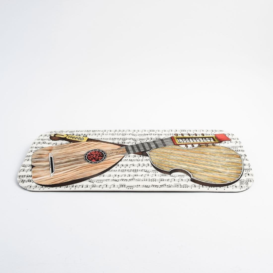 'Strumenti musicali su musica' tray, 1950/60s - 2