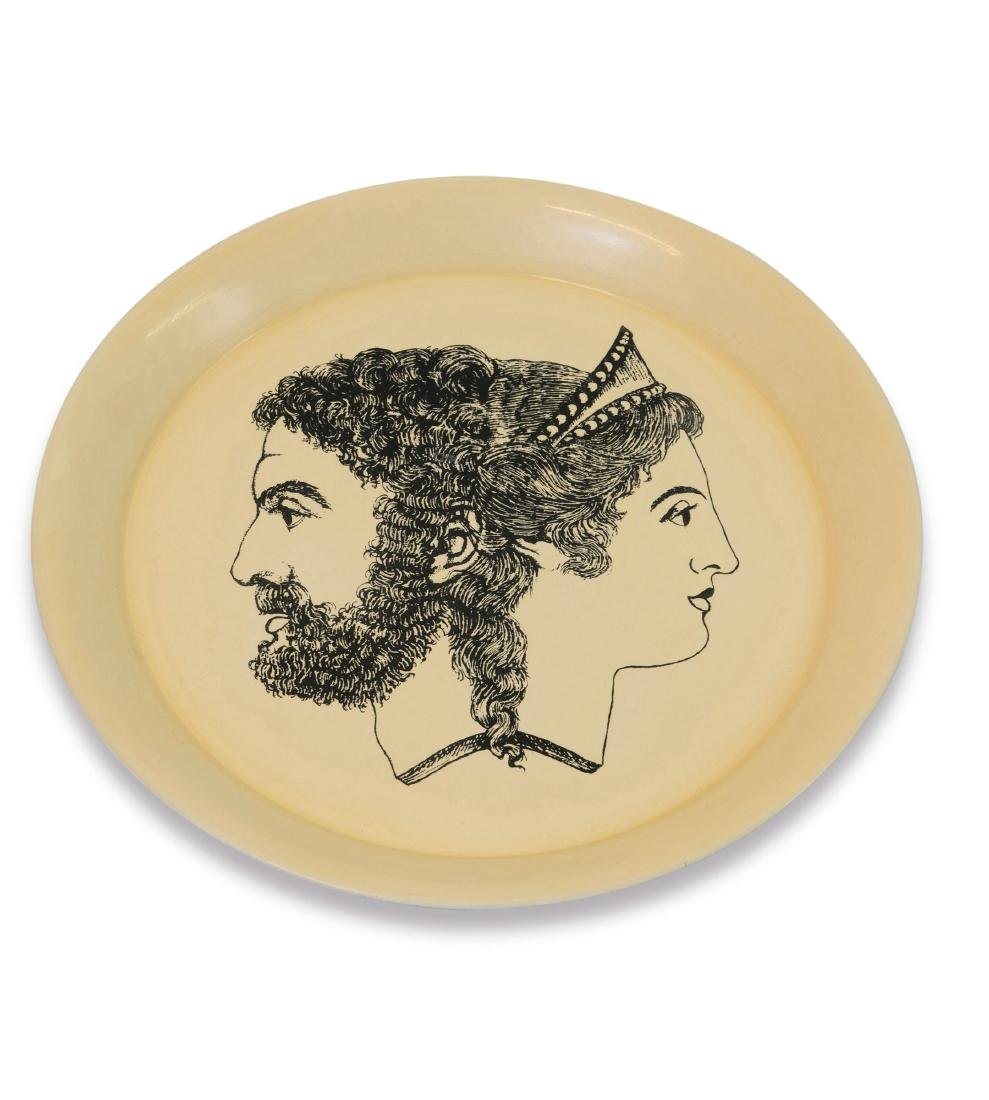 'Giano Bifronte' tray, 1960s