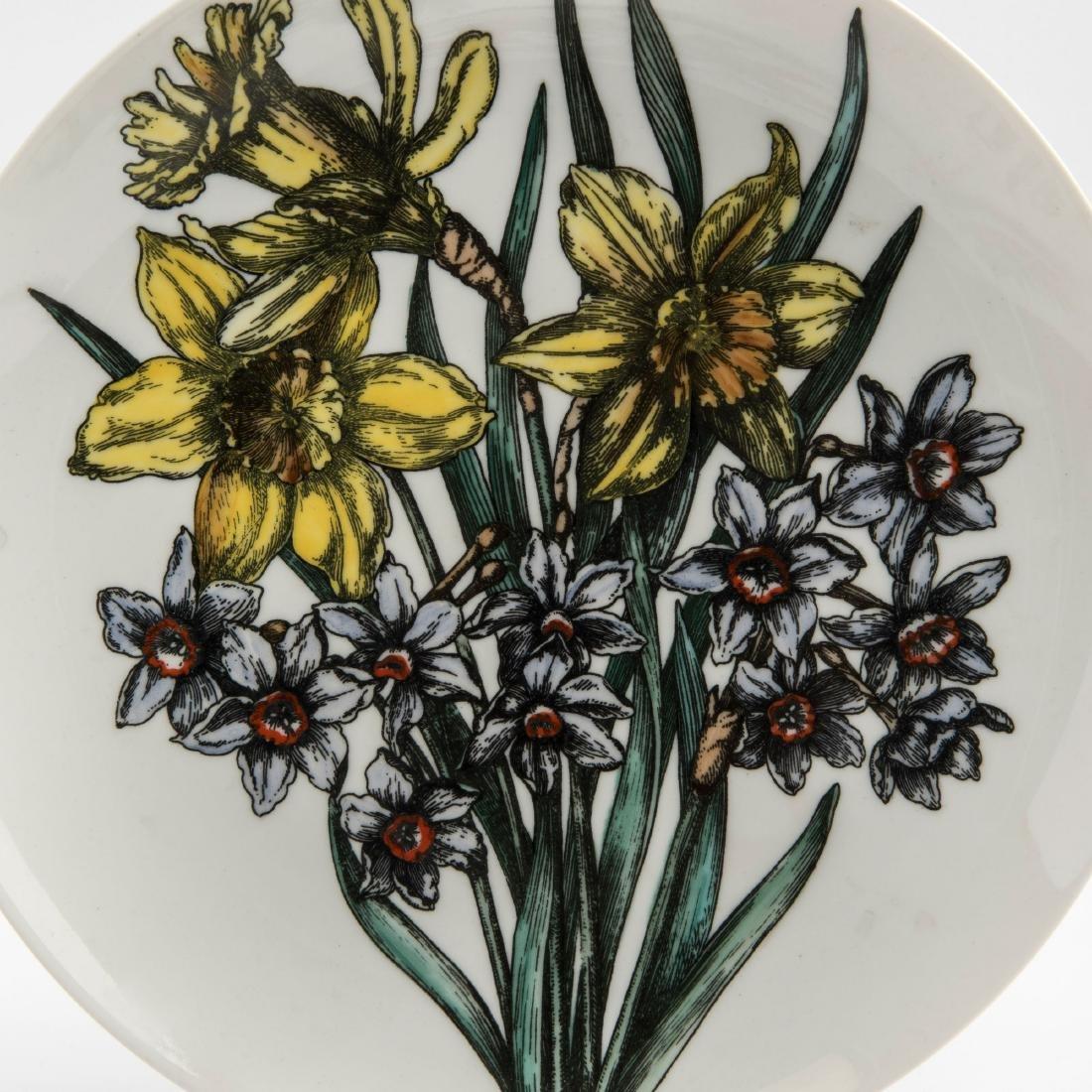 Eight 'Fiori' plates, 1960s - 3