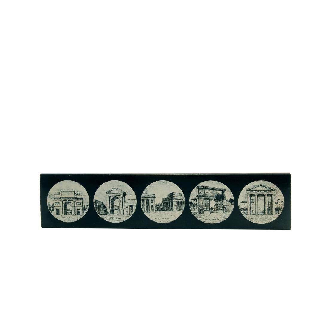'Porte di Milano' cigarette case, 1960/70s