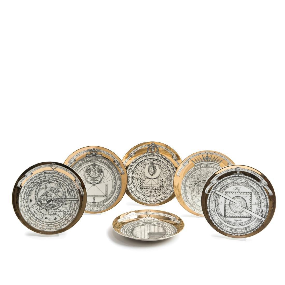 Six 'Astrolabio' plates, 1965
