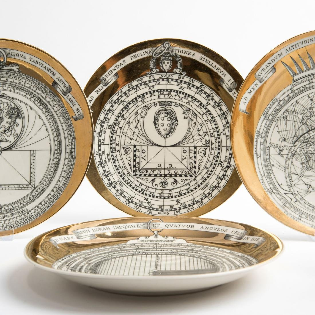 Six 'Astrolabio' plates, 1965 - 2